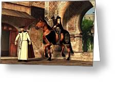 Mordechai And Haman Greeting Card