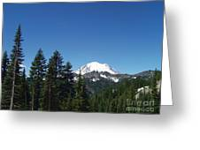 More Mt Rainier Greeting Card