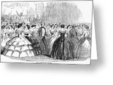 Mormon Ball, 1857 Greeting Card