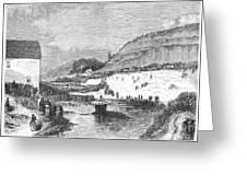 Mormon Baptismal, 1873 Greeting Card