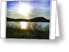 Morning At The Lake Greeting Card