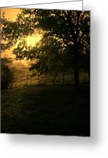 Morning Breaks Softly Greeting Card