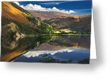 morning by Llyn Gwynant Greeting Card