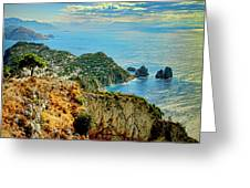 Morning In Capri Greeting Card