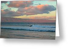 Morning In Maui Greeting Card