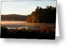 Morning Lake Greeting Card