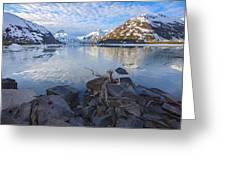 Morning Light At Portage Lake Greeting Card