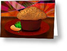 Morning Muffin Greeting Card by Melisa Meyers