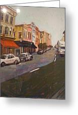 Morning On King Street Charleston Sc II Greeting Card