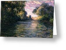 Morning On The Seine Greeting Card