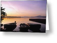 Morning Over Lough Leane, Killarney, Co Greeting Card