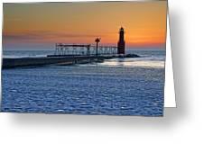 Morning Pastels Greeting Card