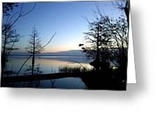Morning Serenity Greeting Card