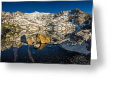 Morning Sun On Angel Lake Greeting Card