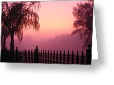 Morning Sunrise Greeting Card