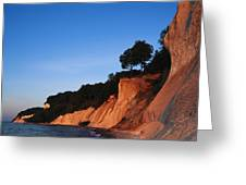 Morning View Of The White Cliffs Greeting Card
