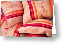 Moroccan Cushions Greeting Card