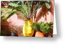 Moroccan Garden Greeting Card