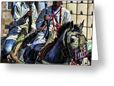 Morocco Dual Greeting Card by Chuck Kuhn