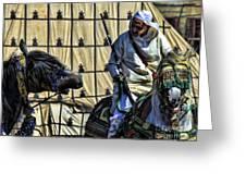 Morocco Festival II Greeting Card by Chuck Kuhn