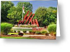 Morris Plains September 11th Memorial Greeting Card