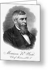 Morrison R. Waite (1816-1888) Greeting Card