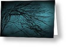 Mosaic Branch Greeting Card