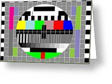 Mosaic Of Colors Greeting Card