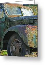 Moss Covered Truck Greeting Card
