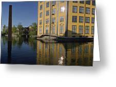 Motala River Greeting Card