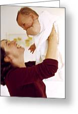 Mother And Baby Greeting Card