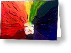 Mother Color Greeting Card