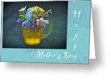 Mother's Day Card - Tiny Wildflower Bouquet Greeting Card