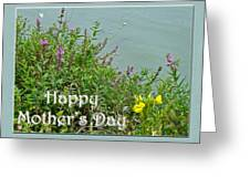 Mother's Day - Wildflowers By The Pond Greeting Card