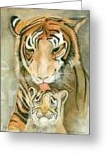 Mother's Love Greeting Card by Delores Swanson