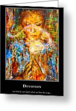 Motivational Devotion Greeting Card