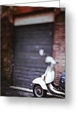 Motor Scooter Greeting Card by Joana Kruse