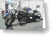 Motorcycle Ride - Three Greeting Card