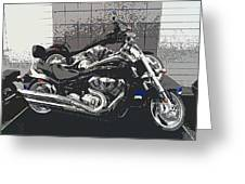 Motorcycle Ride - Two Greeting Card
