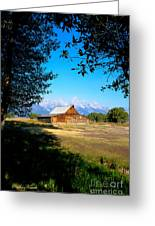 Moulton Barn Greeting Card