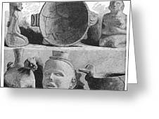 Mound Builders: Pottery Greeting Card
