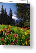 Mount Assiniboine Greeting Card