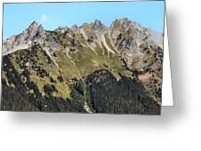 Mount Baker National Forest Greeting Card