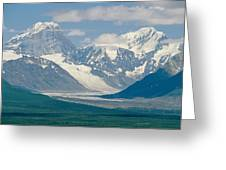 Mount Deborah And Hess Mountain Greeting Card
