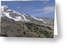 Mount Hood Pano Greeting Card