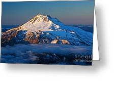 Mount Jefferson Greeting Card