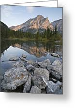 Mount Kidd, Kananaskis, Alberta, Canada Greeting Card