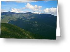 Mount Lafayette From Top Of Cannon Mountain Greeting Card