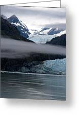 Mount Margerie At Glacier Bay Alaska Usa Greeting Card