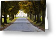 Mount Pleasant In Autumn - Philadelphia Greeting Card